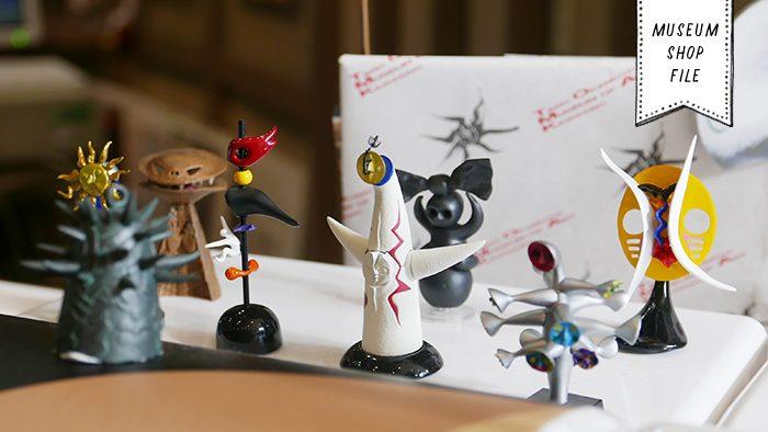 岡本太郎作品にどっぷり浸る!「川崎市岡本太郎美術館 ミュージアムショップ」