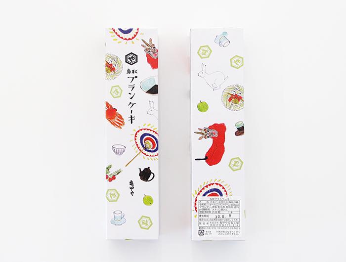 鳥取ブランケーキ