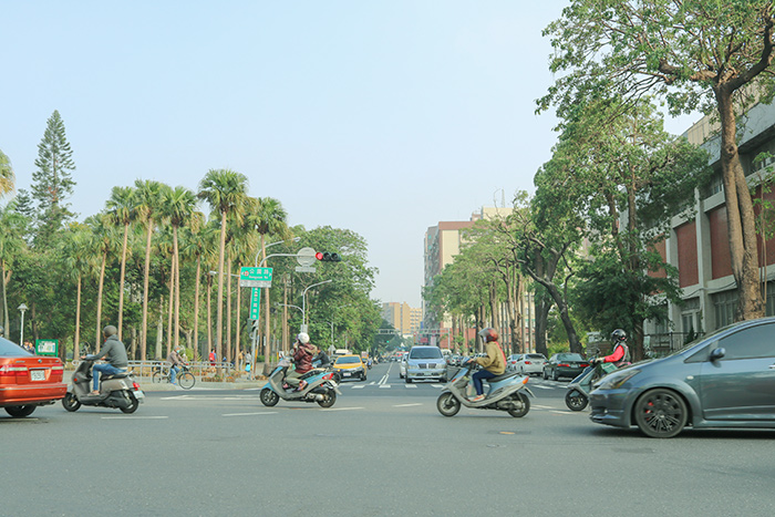台南の風景
