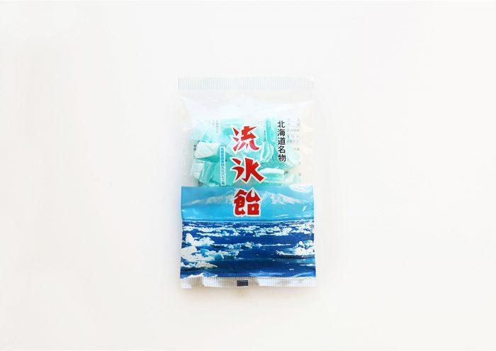 レトロなパッケージが可愛い!北海道 網走・永田製飴の「流氷飴」