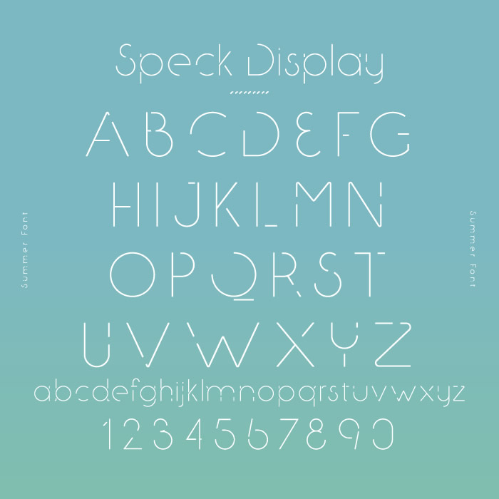 8. Speck Display