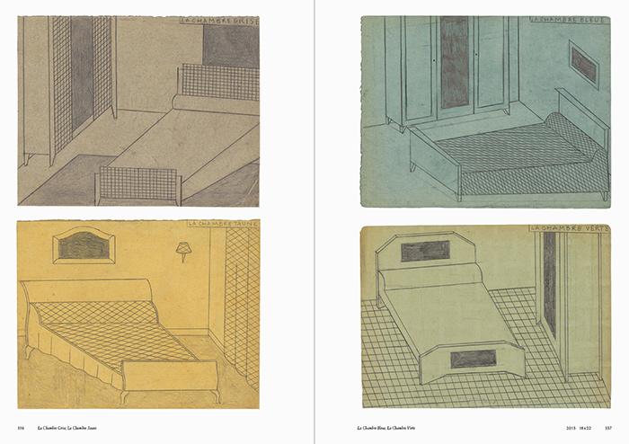 La Chambre Grise, La Chambre Jaune, La Chambre Bleue, La Chambre Verte(2013)