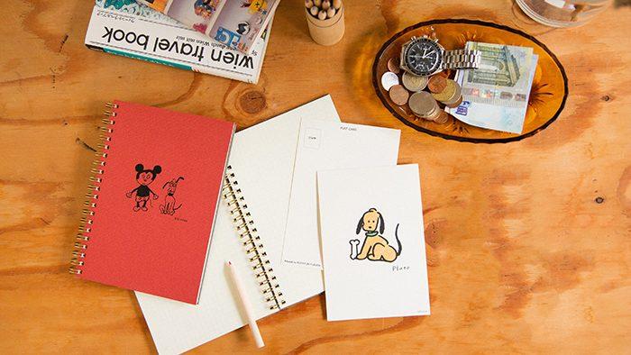 6名の人気イラストレーターがそれぞれのタッチでかきおろすディズニーキャラクター「DISNEY ART COLLECTION」