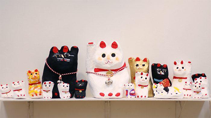 えもいわれぬ可愛らしさに心掴まれる!佐原張子の作り手・鎌田芳朗さん初となる東京の個展に遊びに行ってきました。
