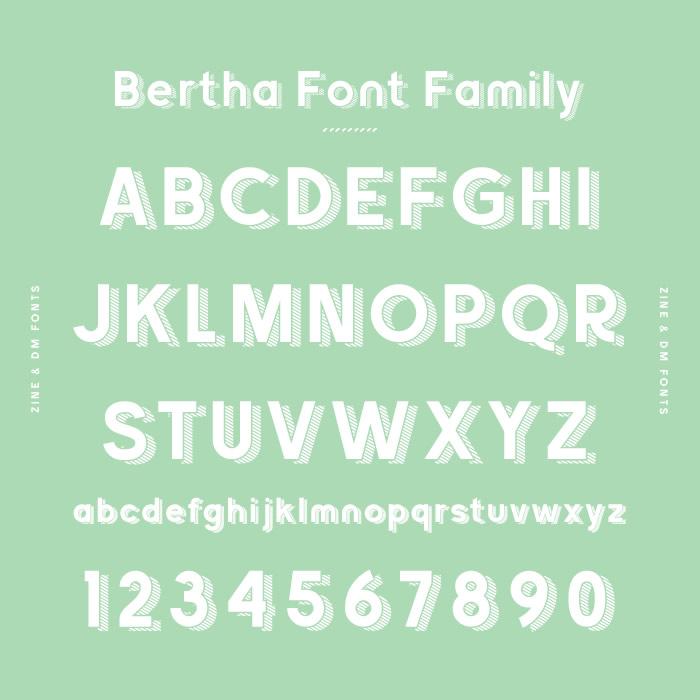 Bertha Font Family