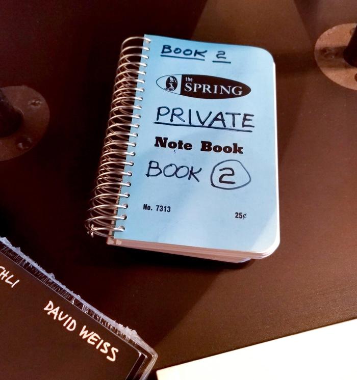 もうひとつ面白かったのが、こちらのプライベートノートブック。