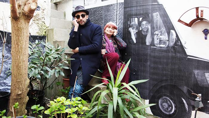アニエス・ヴェルダとJRが巡るフランス旅!映画『顔たち、ところどころ』