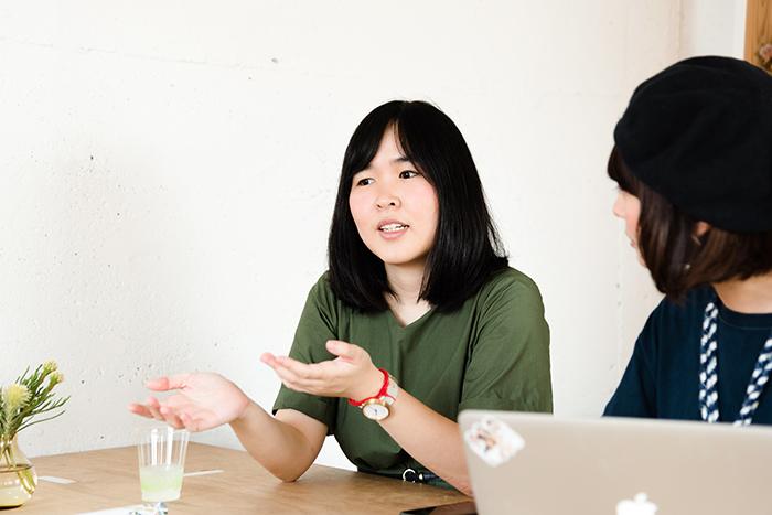 『秋刀魚』編集長EvaさんとHerenow晴さん