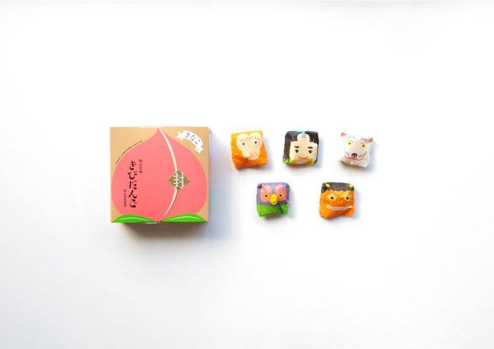 岡山土産の代表!昭和21年の創業以来、桃太郎伝説を語り伝えてきた山方永寿堂の「きびだんご」