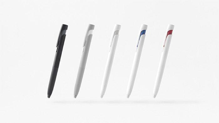 nendoがデザイン。書くときの振動(ブレ)に注目し誕生したストレスフリーなボールペン「bLen」