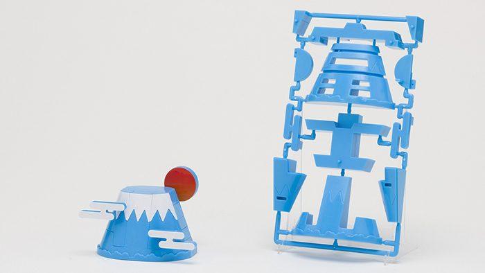 ご当地の「文字」から組み立てるプラモデル「ゴトプラ」に富士山が仲間入り!