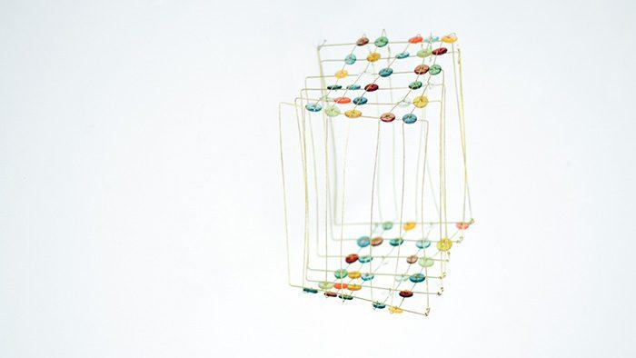 ガラスパーツが繋がって生まれるかたちの美しさに魅了される!ガラス作家・山﨑知佳さん個展「HOW TO JOINT」@中目黒dessinレポート