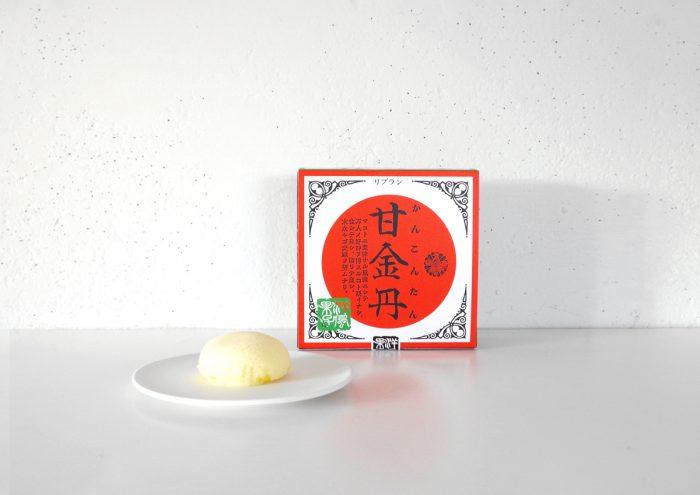 独特な名前とパッケージが気になる!富山土産の「甘金丹(かんこんたん)」