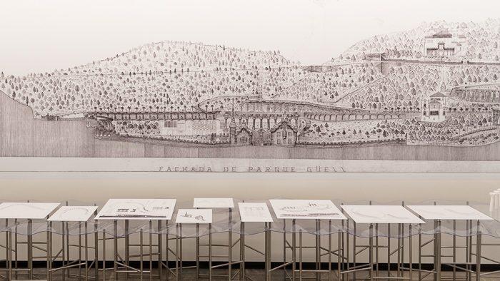 「ガウディをはかる -GAUDI QUEST-」展レポート。40年実測し描かれたガウディの世界を体感する