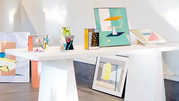 ガラスと絵画で表現された空間の世界。<br />TOMOKO WADA × HARUNA KAWAI「Dimension Clash」レポート