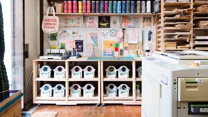世界中のアーティストが夢中になるリソグラフを体験!武蔵小山のリソグラフスタジオ『Hand Saw Press』