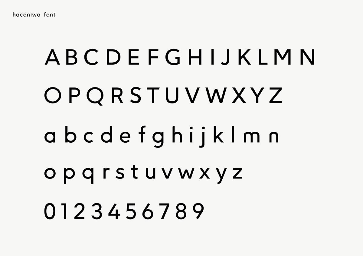haconiwa font