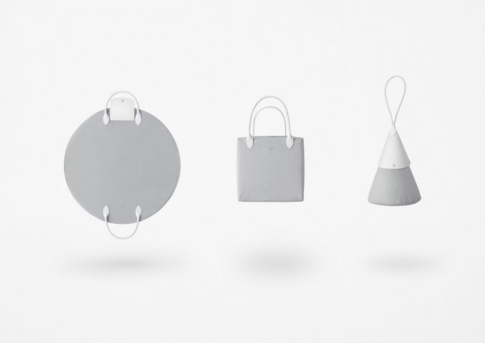 LONGCHAMP×nendo。シーンに合わせて姿を変えるコラボレーションバッグ「katachi」が誕生