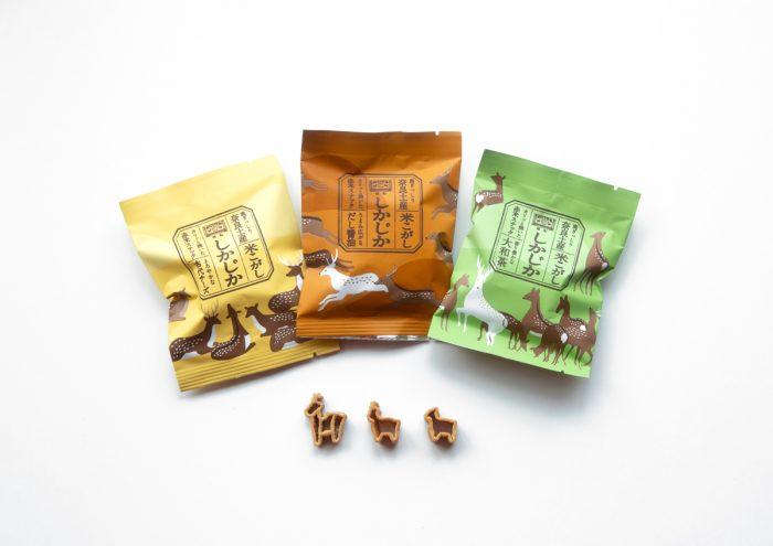 奈良の魅力を見て、食べて、感じる。キュートな鹿型スナック「しかじか 米こがし」