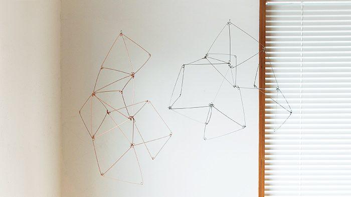 自由自在に幾何学の彫刻が作れるプロダクト、SPRING SPRINGの「SPRING VEIL」が気になる!