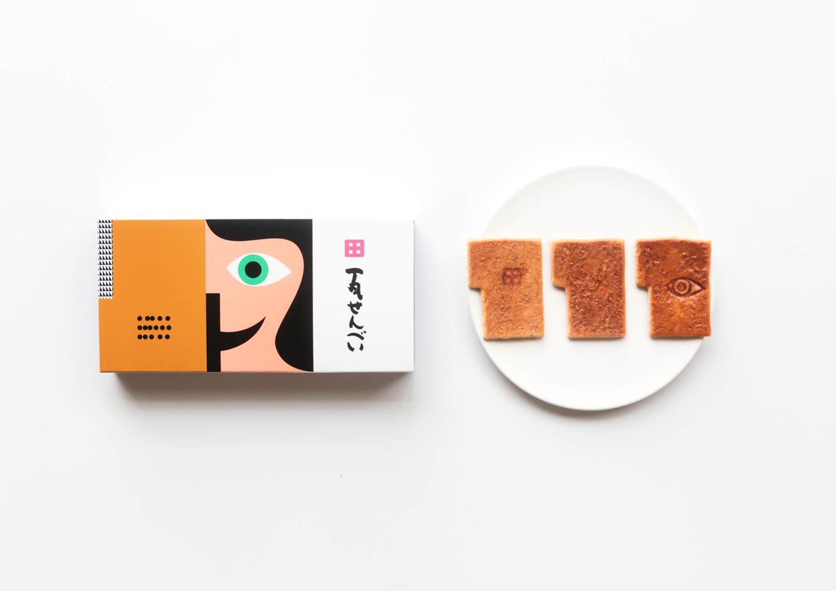 瀬戸内国際芸術祭がきっかけで誕生した特別パッケージが気になる!香川土産「瓦せんべい」