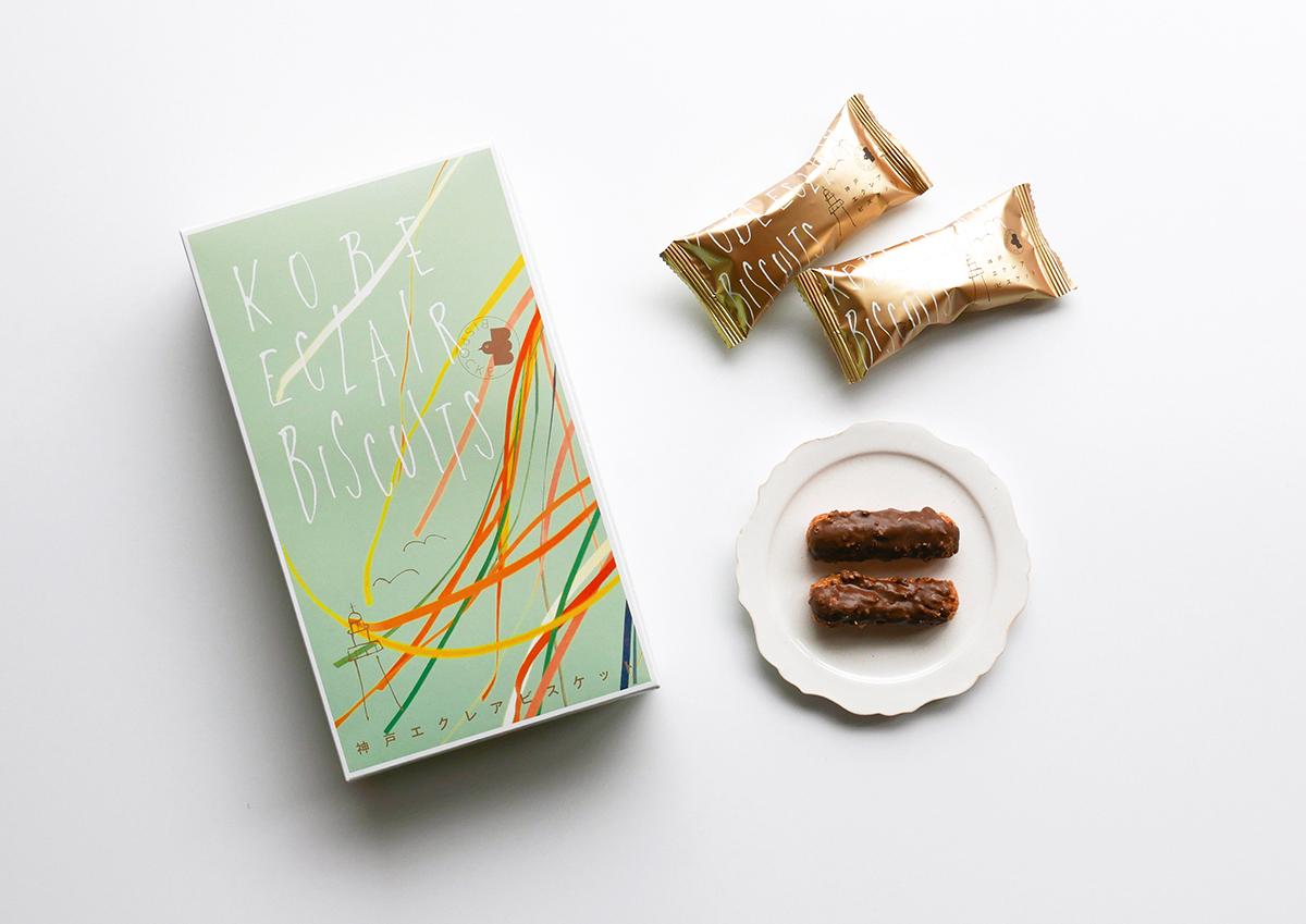 看板商品のエクレアがお土産にぴったりなビスケットに!神戸の洋菓子店BISPOCKEの「風のエクレア」