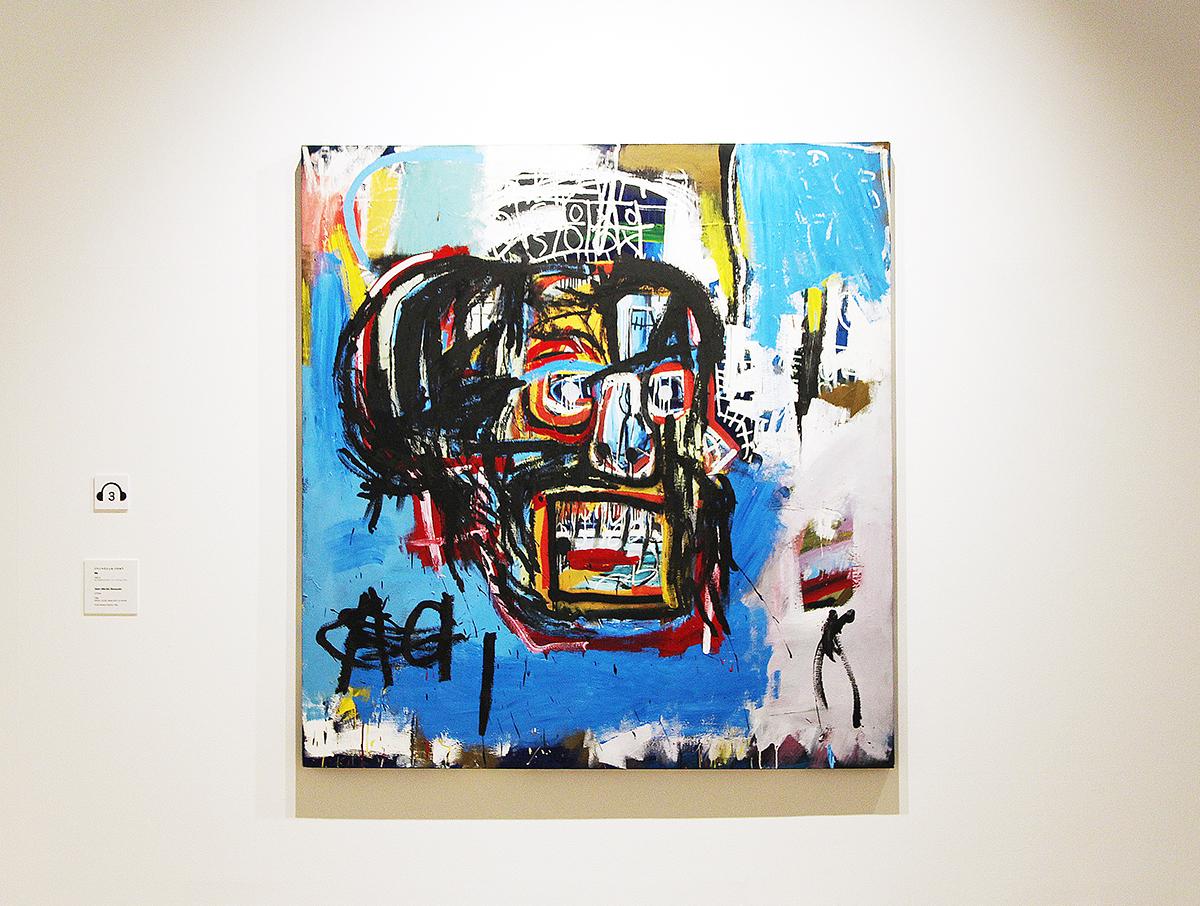 ジャン=ミシェル・バスキア 《無題》(1982) Yusaku Maezawa Collection, Chiba Artwork © Estate of Jean-Michel Basquiat.Licensed by Artestar, New York