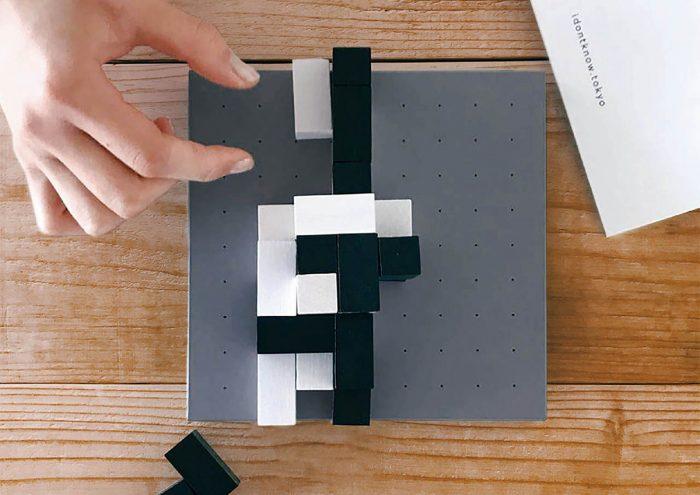 シンプルだけど奥深い。オブジェを作るように楽しめるボードゲーム「CUBOID」