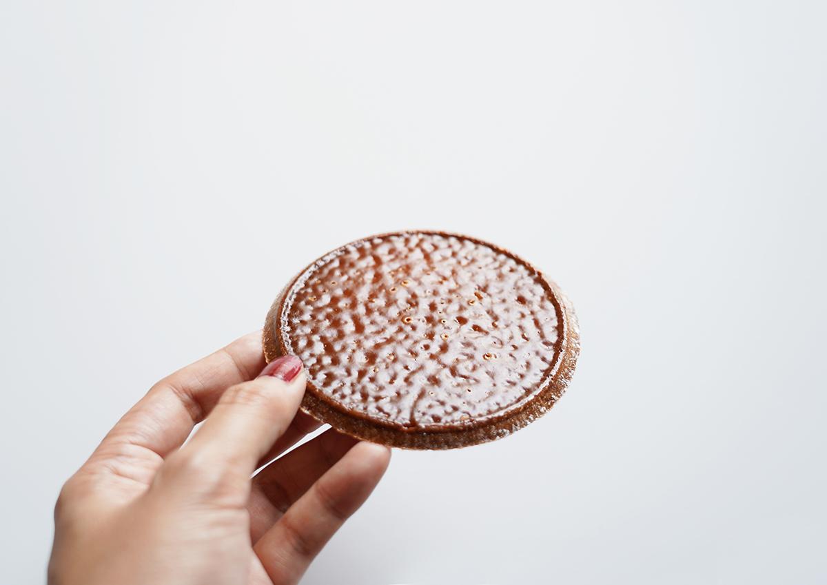 キャラメル煎餅まつほ