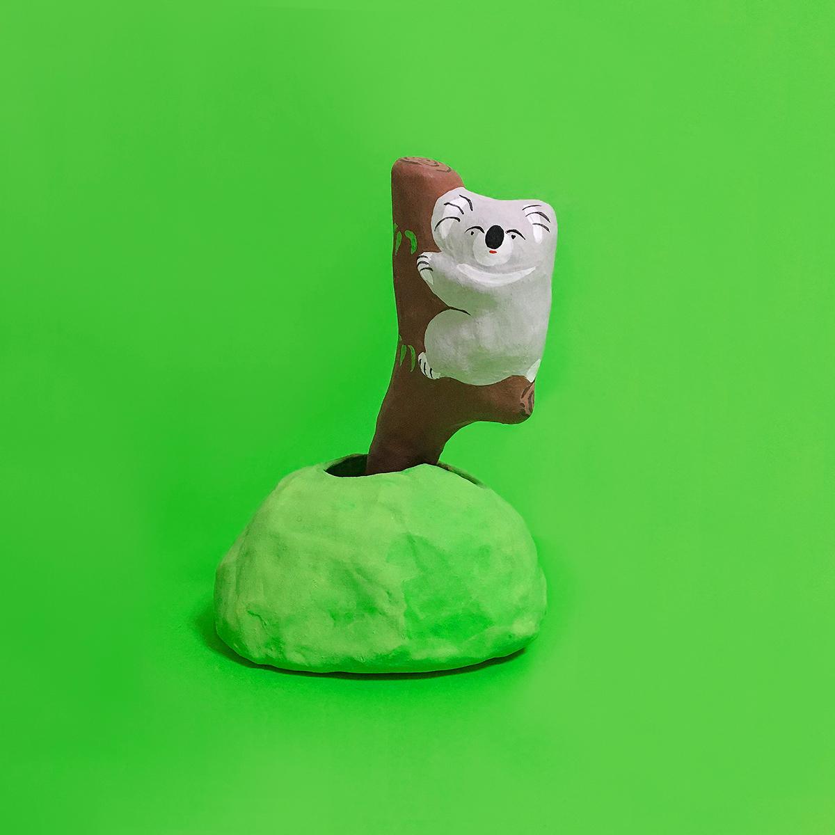 木登りコアラ