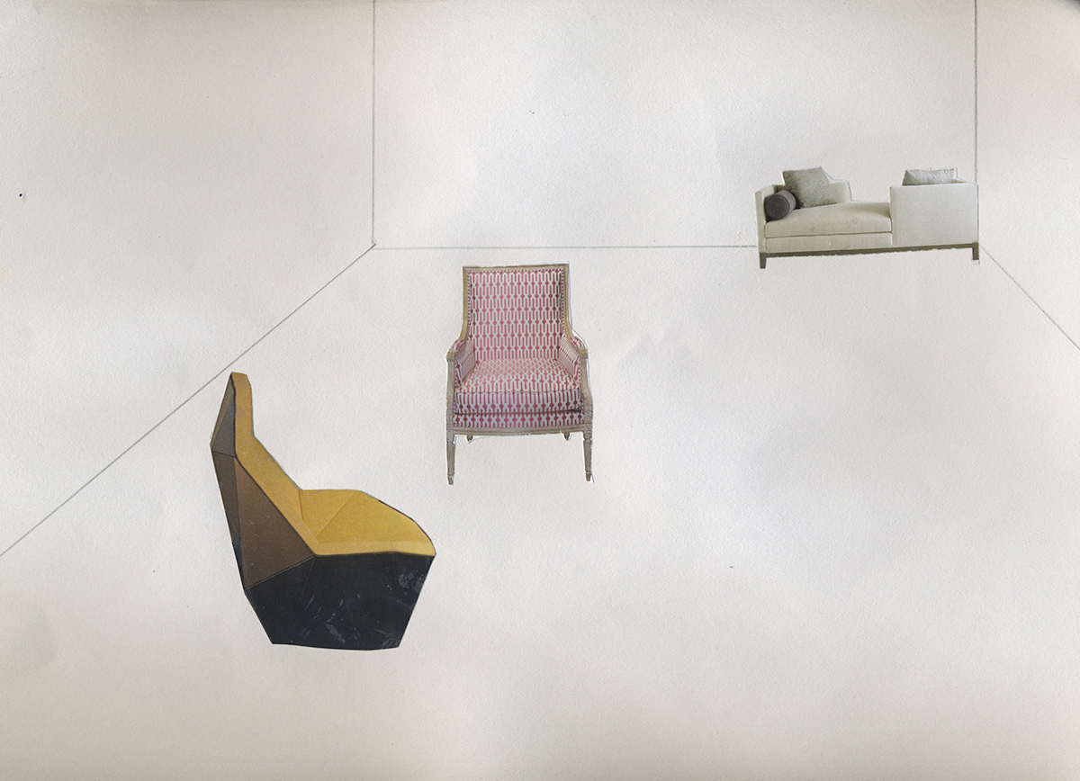 平野さんのコラージュ作品(2012年)