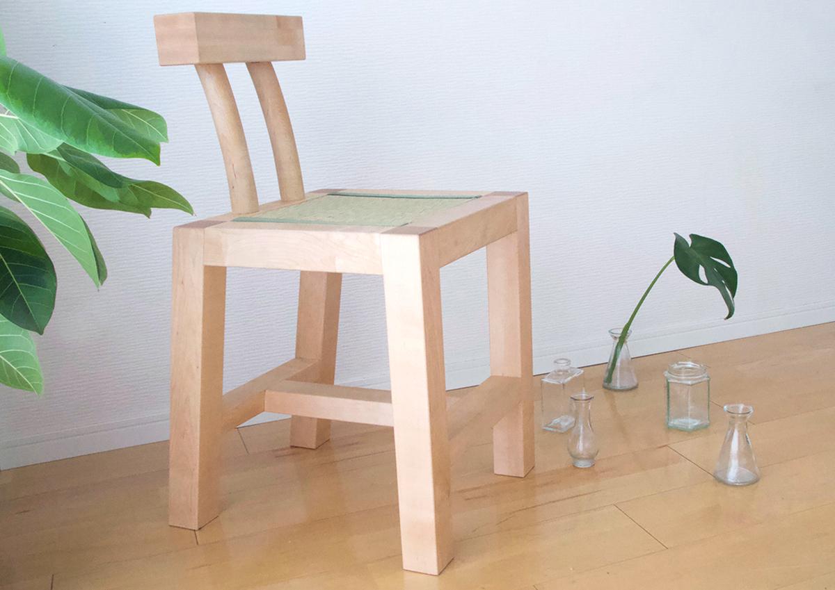平野さんが制作した椅子作品