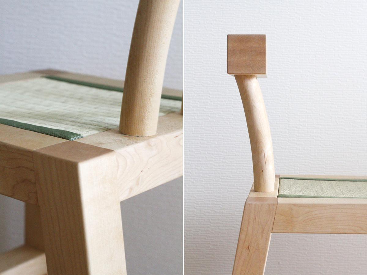 フィーリングを椅子のデザインに反映している