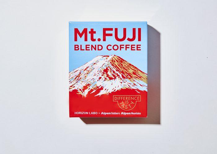 17歳の焙煎士・岩野響とアルペンがコラボし、コーヒーで山の個性を表現する「このやまコーヒー」から『Mt. FUJI BLEND COFFEE』が発売!