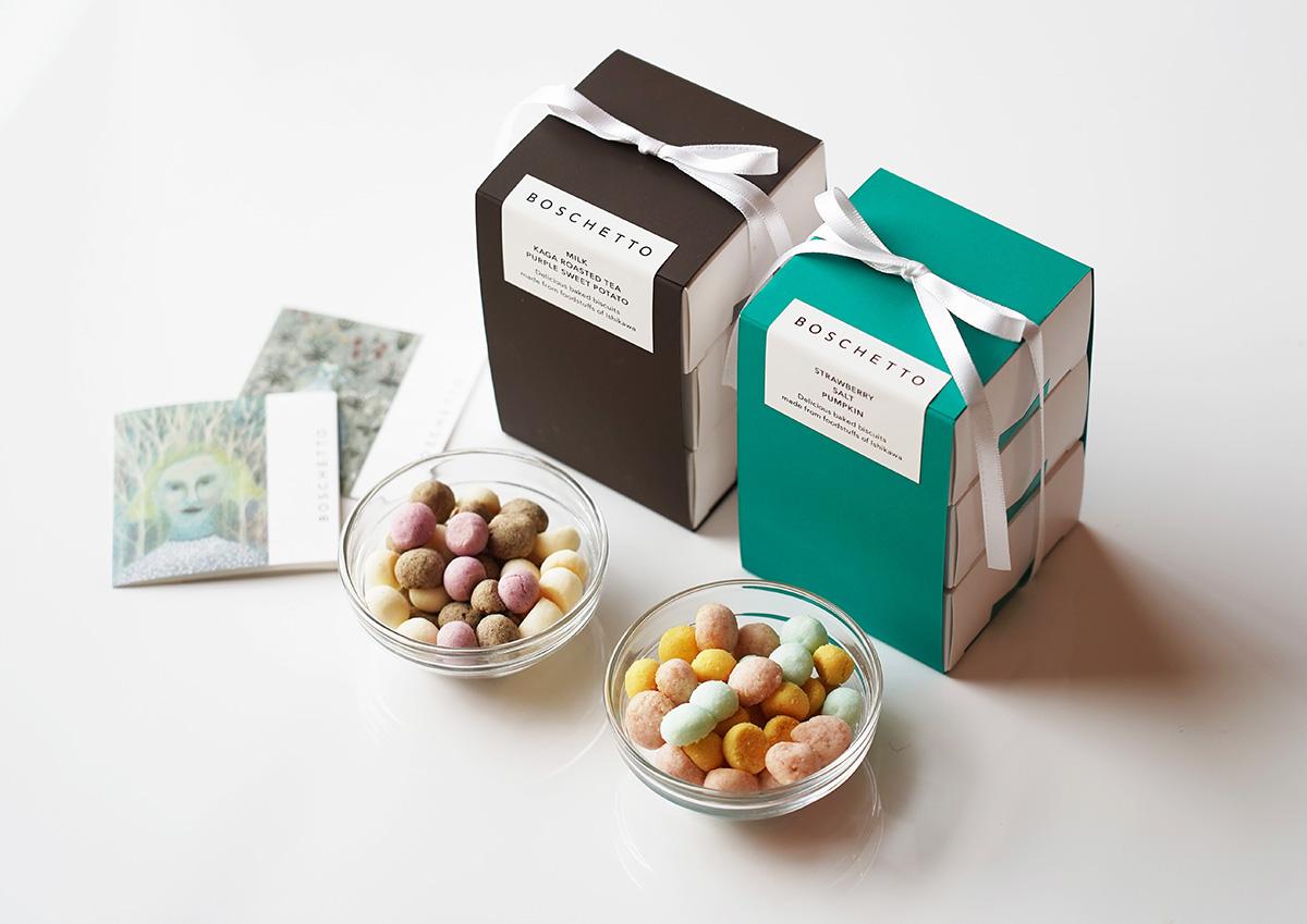 贈り物にぴったり!地産食材を使用した、石川県・金沢のやさしい焼き菓子「BOSCHETTO(ボスケット)」