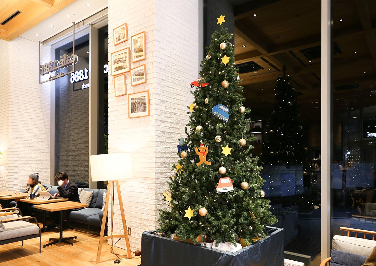 café 1886 at Bosch クリスマス