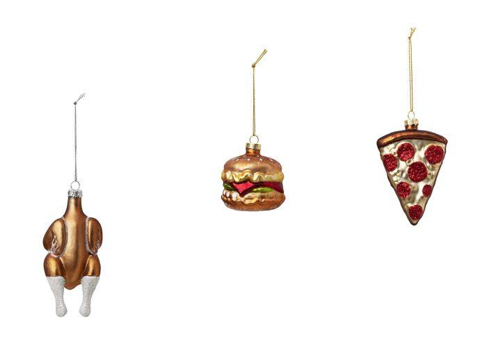 ピザやローストチキンがオーナメントに!フライング タイガー コペンハーゲンのクリスマスアイテムがかわいい〜