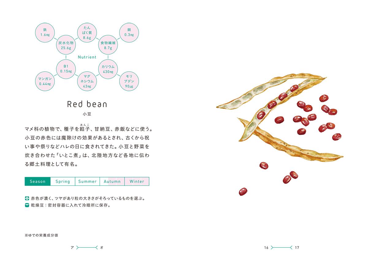 菜の辞典小豆