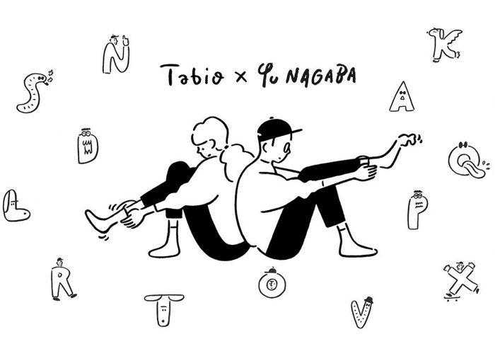 「Tabio×長場雄」コラボ。長場雄さん描き下ろしのアルファベット刺繍ソックスが気になる!