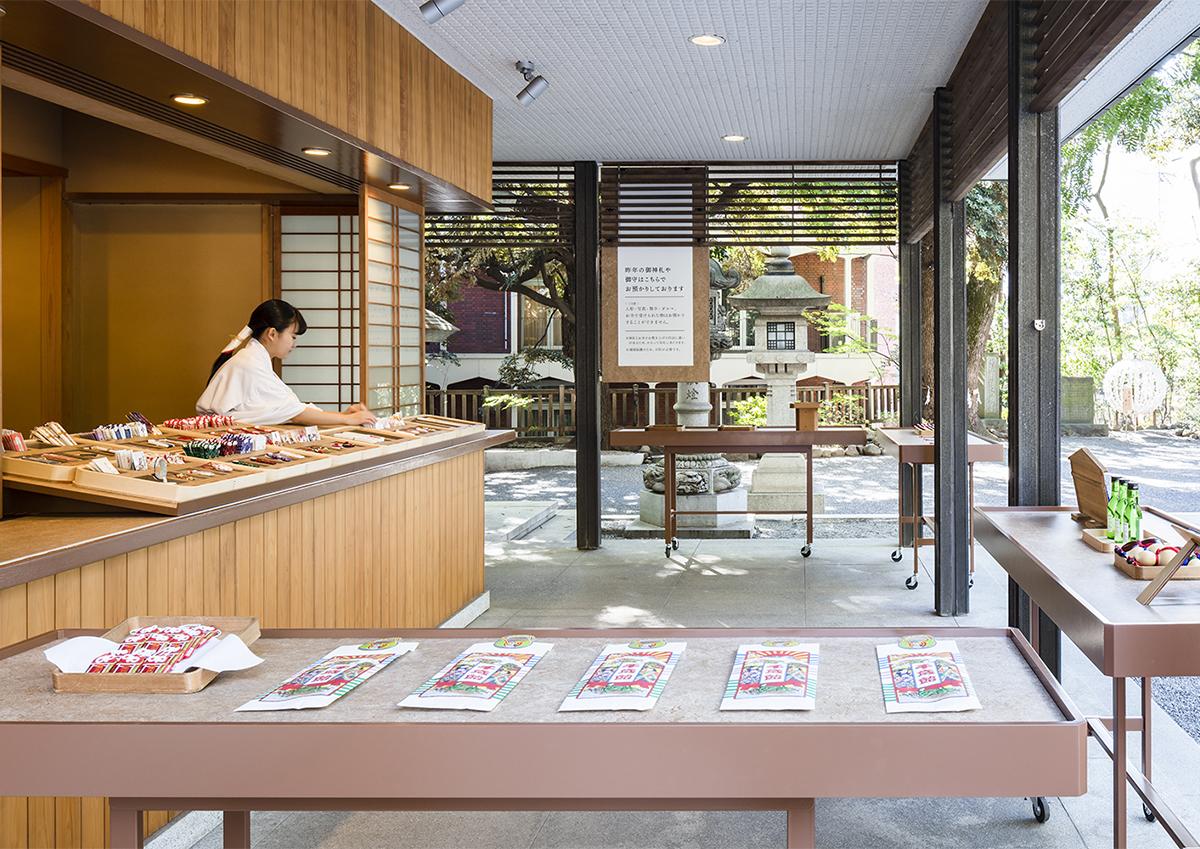 神社の空間デザインに注目!東京・乃木神社の授与所がリニューアル
