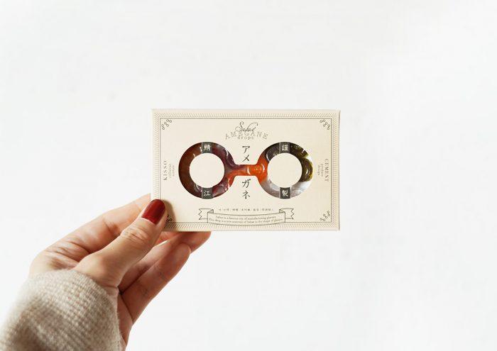 """""""食べるメガネ""""が可愛い!メガネの街・福井県鯖江市のおみやげ「アメガネ」"""