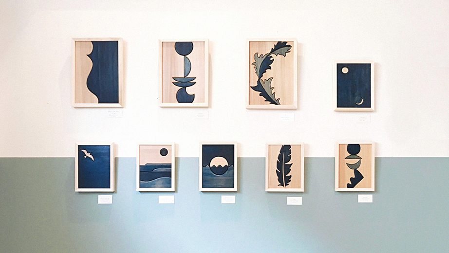 "INDIGO WOODWORK EXHIBITION ""BALANCE"""