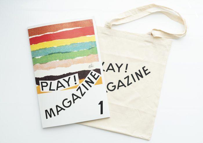 立川の新たな複合文化施設「PLAY!」のオープンに先駆けて創刊。大判のローカル・アートマガジン「PLAY! MAGAZINE」