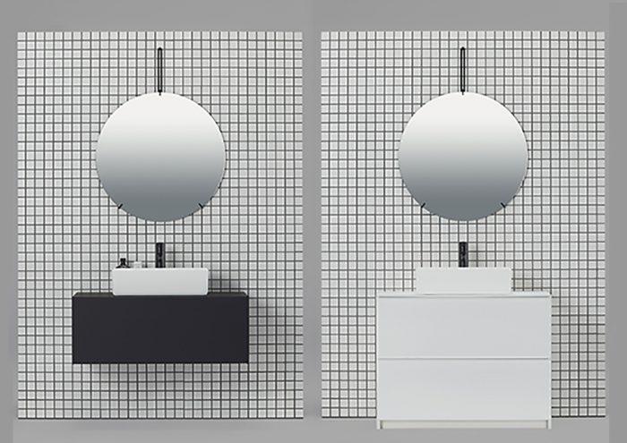 究極のミニマルデザイン。線と面で構成した洗面下台「リクレール」でホテルライクな洗面空間を。