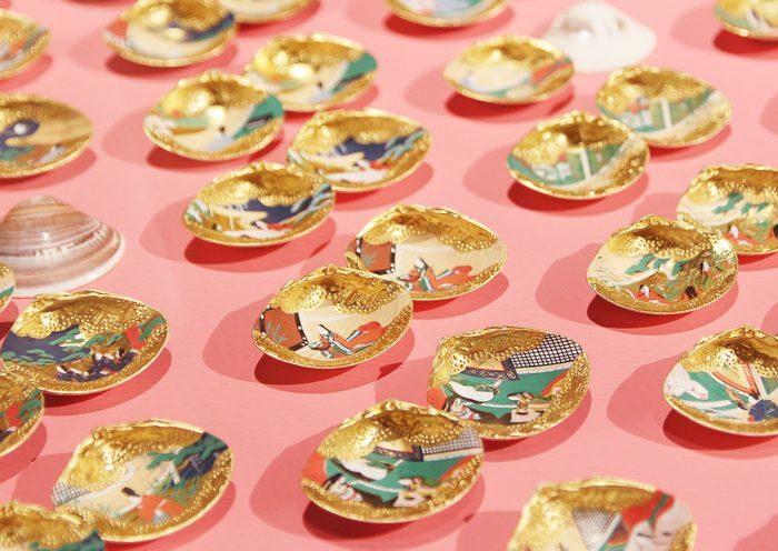 華やかで細密な作品に心ときめく!虎屋 赤坂ギャラリーで「王朝のおもちゃ-林美木子の有職彩色-」展が開催中。