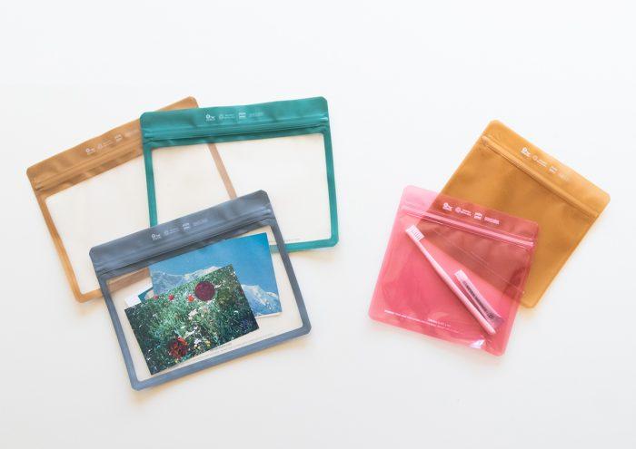 使い道いろいろ!シンプルでおしゃれな日本製ジッパーバッグ「Pake」