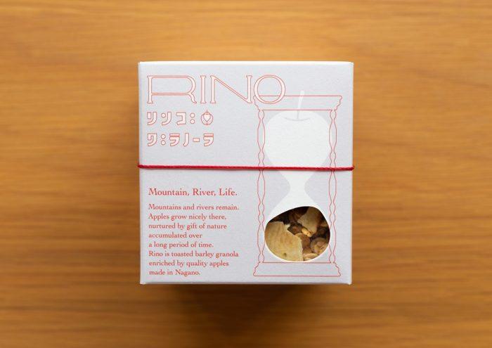 台風19号被害から復興を目指して。長野県産リンゴをたっぷり使用したリンゴグラノーラ「RINO」