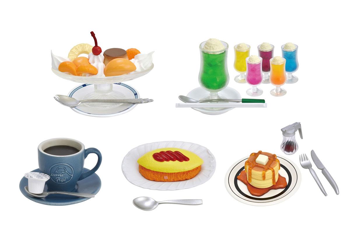 東京の名店「純喫茶」の名物メニューがミニチュアに!「純喫茶 ミニチュアコレクション」が5月下旬に登場。