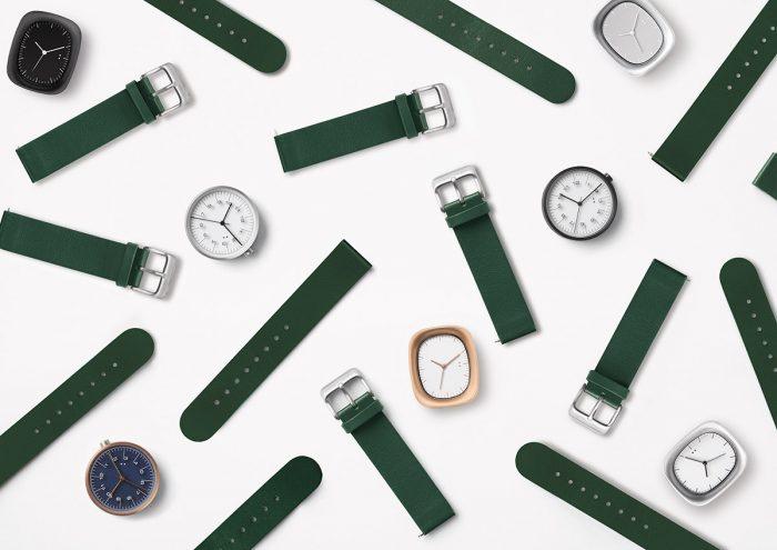 腕時計で気持ちのオン・オフを。カスタマイズ可能な「10:10 BY NENDO」から新⾊ストラップ「ハンターグリーン」が登場!