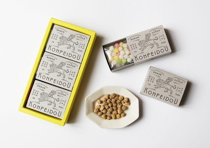 大阪・佐々木製菓の、自然素材にこだわった金平糖ブランド「金平堂(KONPEIDOU)」